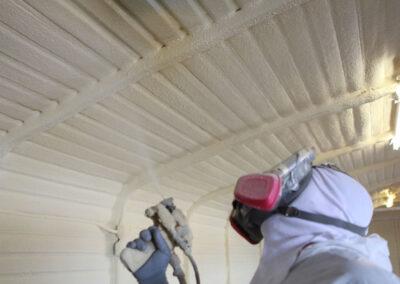 Spray Foam Insulation in Metal Buildings in Atlanta